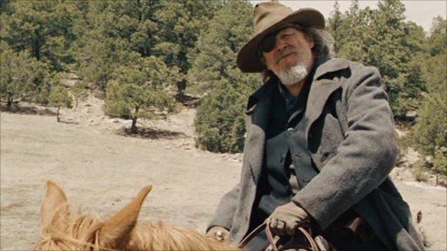 Jeff Bridges as Rooster Cogburn
