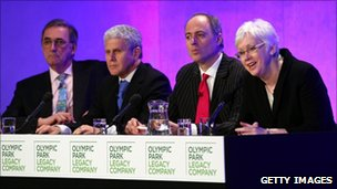 Olympic Park Legacy Company (OPLC) executives