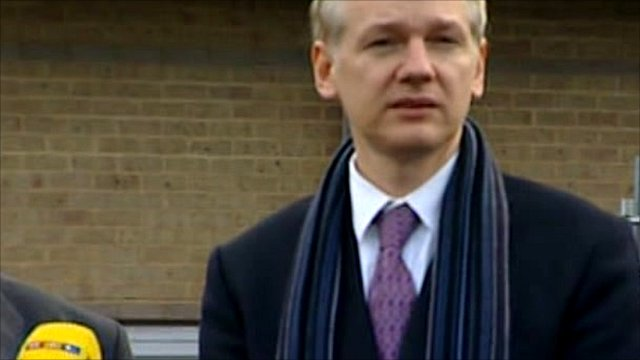 Wikileaks' founder Julian Assange