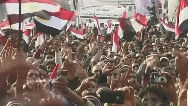 Celebration in Cairo