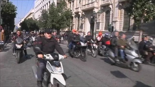 Greece, strike by transport workers