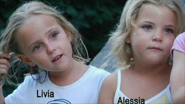 Missing Swiss twins Livia and Alessia