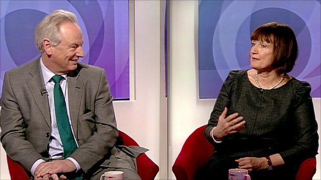 Francis Maude and Tessa Jowell