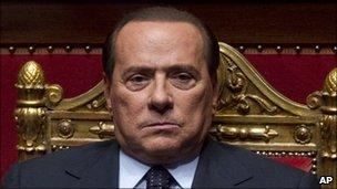 Silvio Berlusconi, file pic