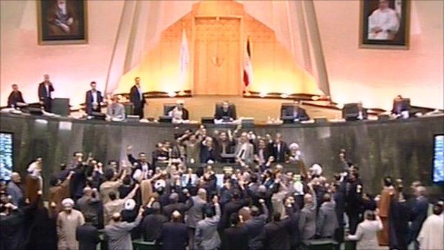 Iran parliament