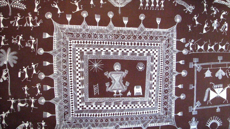 Indian Tribal Art Painting