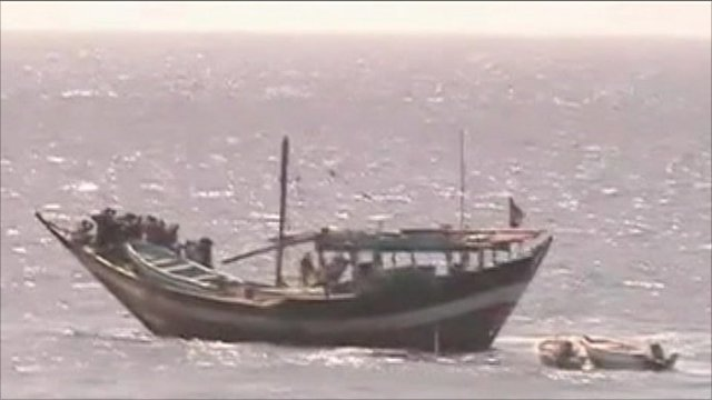 Rescued fishing vessel