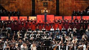 BBC Symphony Orchestra with the BBC Symphony Chorus