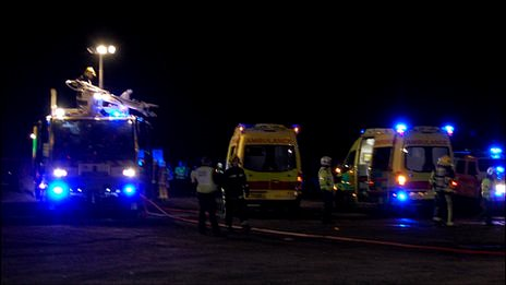 Emergency drill at Guernsey Airport