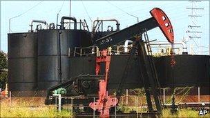Venezuelan oilfield