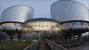 European Court of Human Rights building in Strasbourg