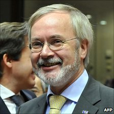 German Europe Minister Werner Hoyer, 22 Nov 10