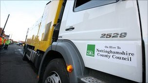 Council lorry