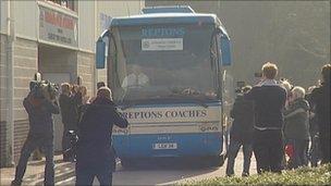 Crawley team coach