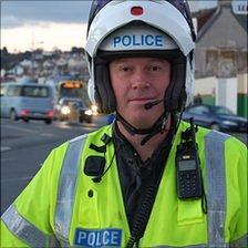 Guernsey Police Traffic Sgt John Tostevin