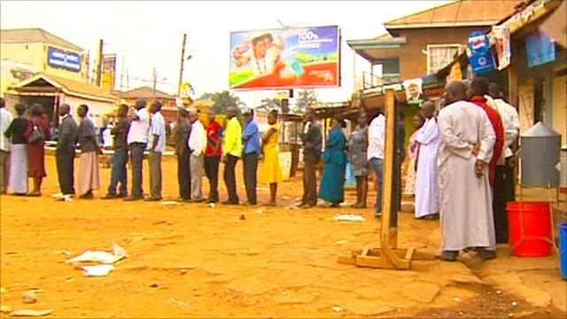 Ugandan polls
