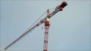 Sutton Road crane