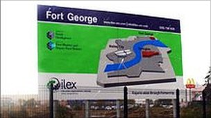 Fort George site