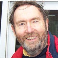 Richard Bull a retired geologist and Lyme Regis Museum volunteer