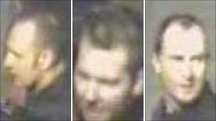 CCTV images from Nottingham Railway Station