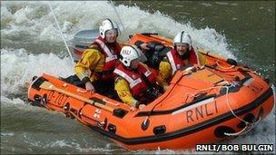 Port Isaac inshore lifeboat Copeland Bell