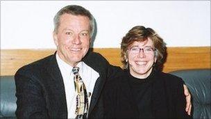 Robert Johnston and Catherine Barsotti