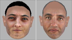 E-fit images of the sex attack suspects