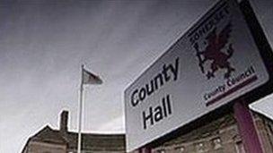 County Hall, Taunton