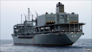 Iranian support ship Kharg