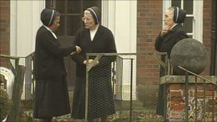 Nuns at The Convent of St Lucy