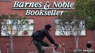 Barnes & Noble store in California