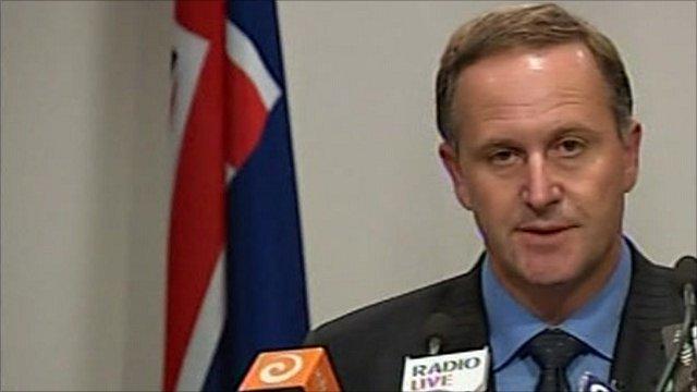New Zealand Prime Minister, John Key