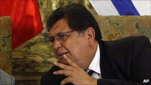 Alan Garcia on 15 January 2011
