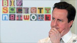 David Cameron at the Big Society Network