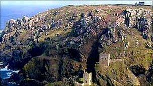 Cliffs at Botallack