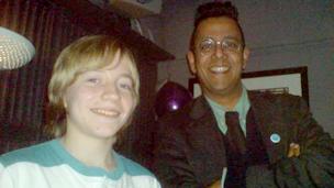 Rhys Morgan and Dr Simon Singh