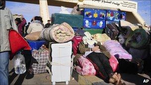 Libya-Egypt border