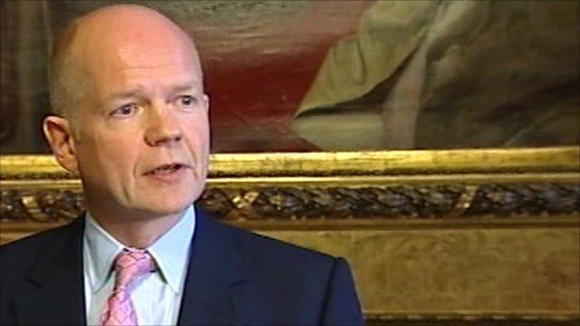 Foreign Secretary, William Hague