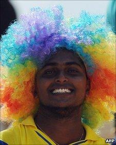 Sri Lankan cricket fan