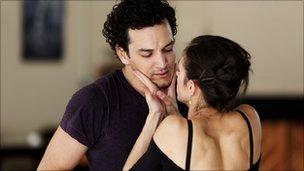 Javier Torres and Martha Leebolt in Cleoaptra. Photo: Justin Slee