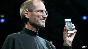 Steve Jobs, Apple chief executive