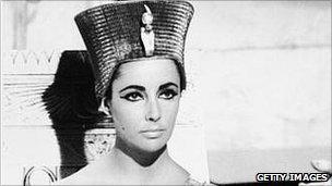 Liz Taylor in Cleopatra