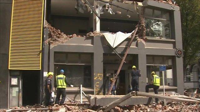 New Zealand, earthquake