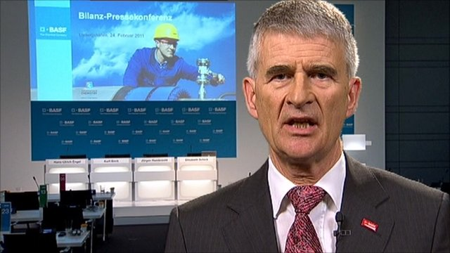 Juergen Hambrecht, CEO of BASF