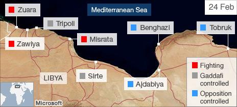 Libya: Gaddafi blames Osama Bin Laden for protests