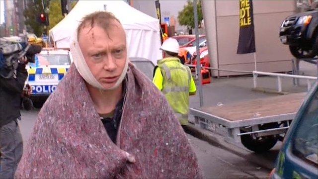New Zealand quake survivor