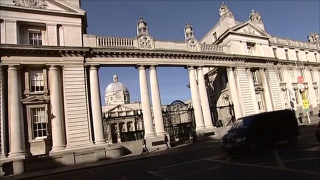 Government buildings in Dublin