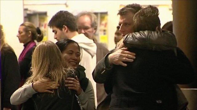 Britons return from Libya
