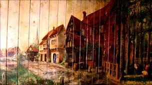 Orkney mural