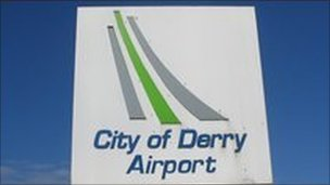 The airport is owned by Derry City Council